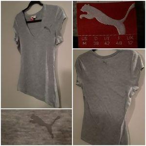 Puma Women's V-Neck Teeshirt